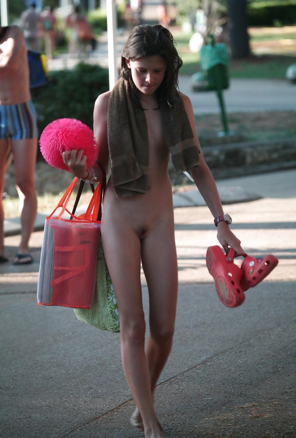 beach nudity