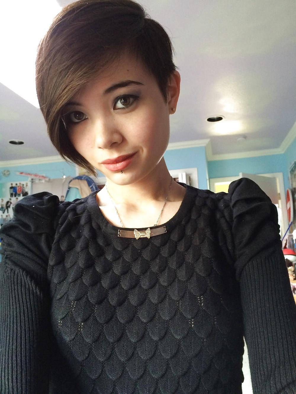 short hair sex